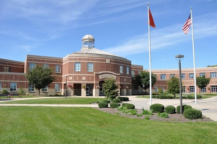 modern American high school